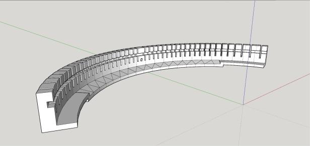 3D-Modell Typenlagerung