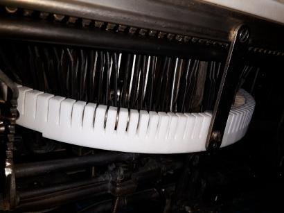 Detail nach Abschluss der Reparatur