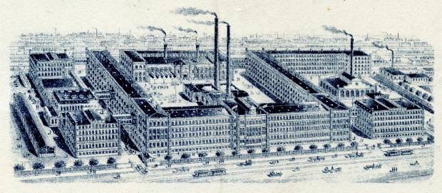 Fabrikansicht S&N 1909