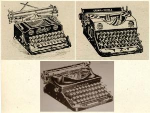 Urania Kleinschreibmaschinen
